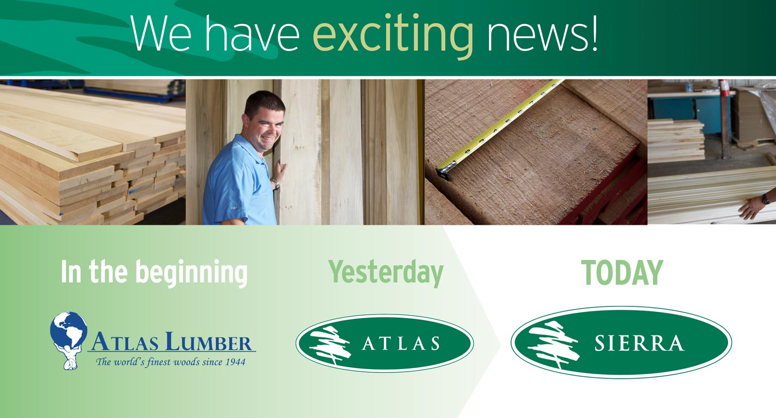 Atlas Lumber Changes Name to Sierra Forest Products