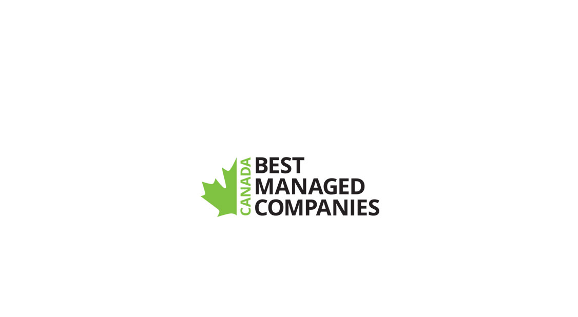 Upper Canada Recognized as One of Canada's Best Managed Companies