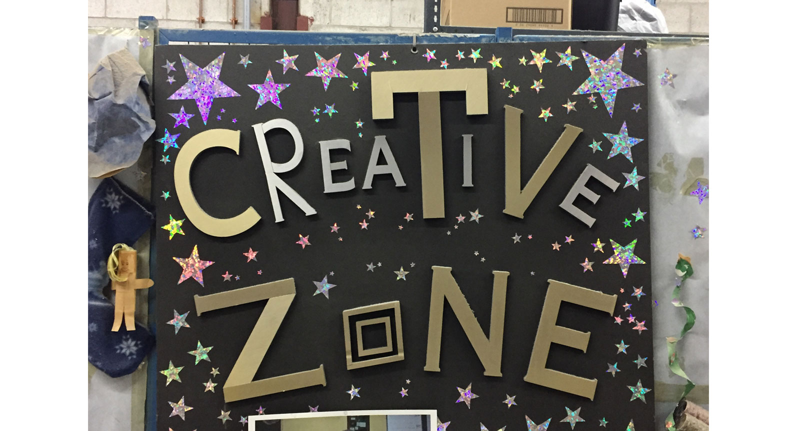 The Creative Zone: What Better Way to Reduce, Reuse and Recycle?